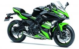 Ninja 650 Green 1