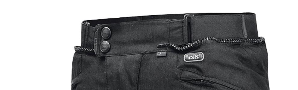 """Hose aus 500D AIRGUARD mit SoltoTEX Futterliner mit Wassersperre und austrennbarem Thermofutter. Antirutschbesatz am Gesäss. Ab CHF inkl. 279.00 """"Tromsö"""" bei ixs.com"""