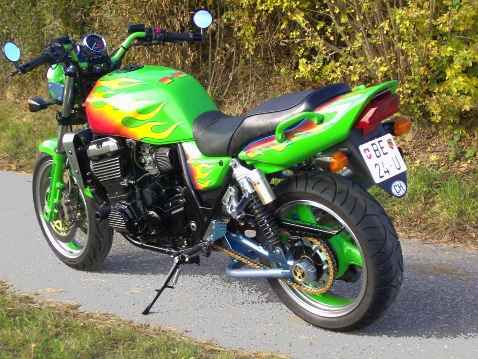 Ueli Mit Kawasaki ZRX1100 Und Versys1000