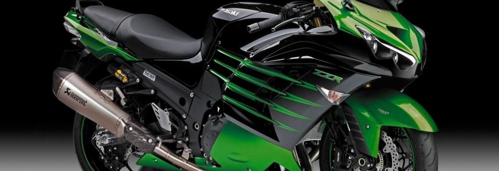 Die Kawasaki ZZR1400 genießt bereits im Serienzustand den Ruf das Motorrad mit der schnellsten Beschleunigung zu sein und ist außerdem für ihr transparentes und sportliches Handling bekannt.