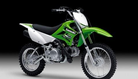 Die KLX110 – ein kleines Bike für den großen Spaß.