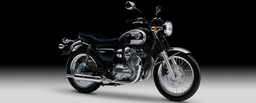 Die W800 zieht mit Stil und hochwertigen Details alle Blicke auf sich.