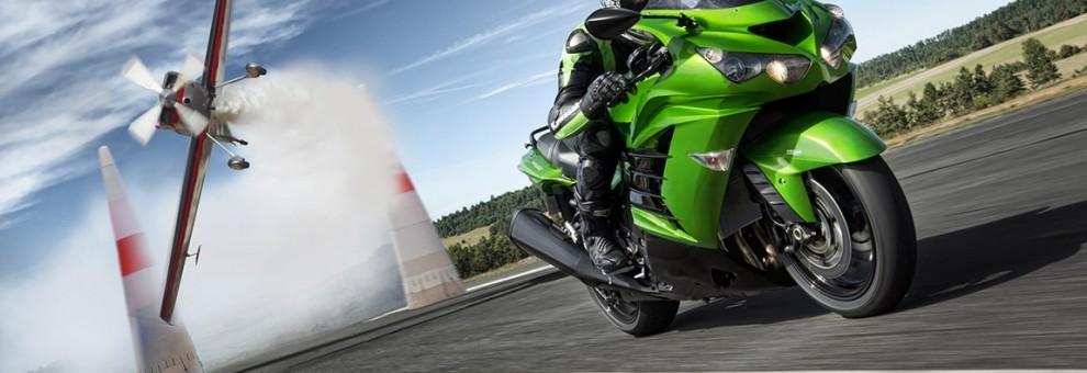 Die ZZR1400 verbindet unsere Leidenschaft für High-Tech mit der Suche nach der ultimativen Performance.
